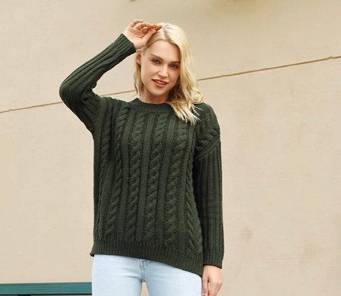 Rainy Knit Pullover