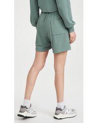 Sundry Boyfriend Shorts- Olive
