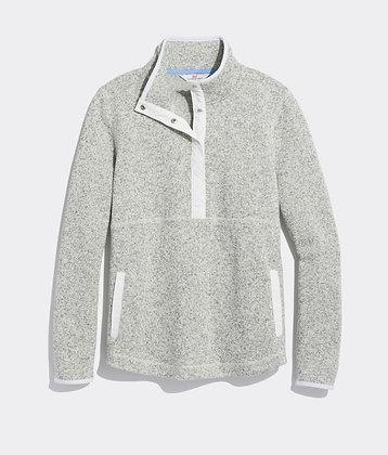 Sweater Fleece Snap-Placket