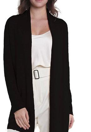 Cashmere Drape Front Cardigan