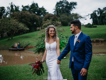 Casamento Joelma e Reinaldo Timbo-SC
