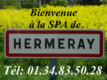 Annonce collaboration SPA Refuge de Hermeray