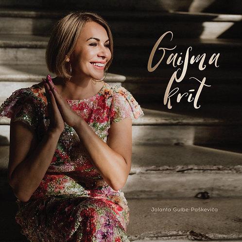 "JOLANTA G PASHKEVICH ""GAISMA KRĪT"" // CD"