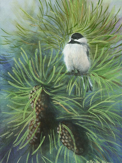 First Christmas (Black Capped Chickadee)