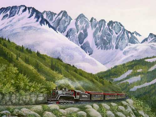 White Pass and Yukon Railway Spring