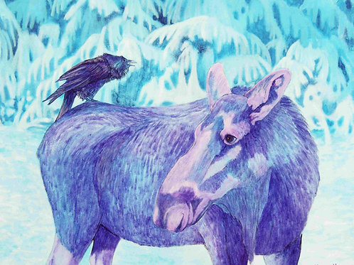 Backseat Driver (Moose and Raven)