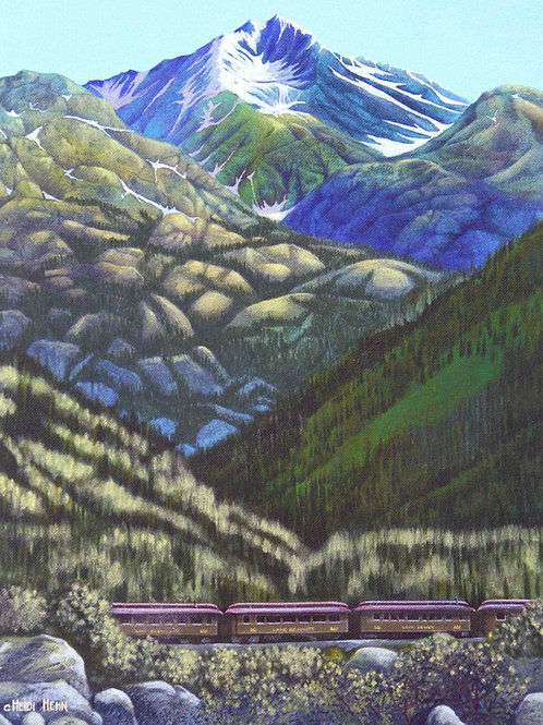 White Pass and Yukon Railway Summer