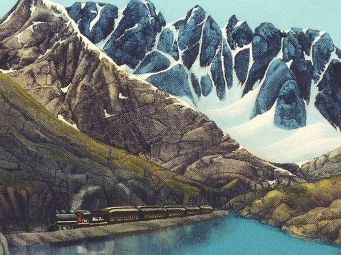 White Pass and Yukon Railway at the Summit
