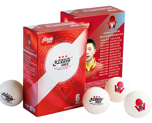 Balles DHS 3⭐️ ITTF World Tour X6