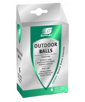 Balles Outdoor Sunflex par 6