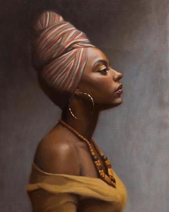 Portrait of Arachel, 2021