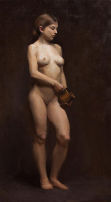Female with Pot 2