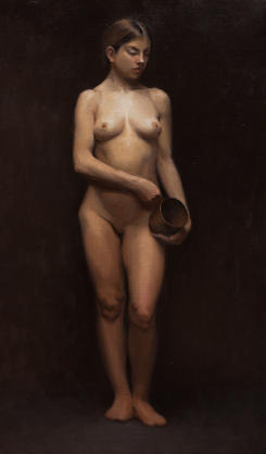 Female with Pot