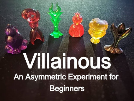 Villainous: An Asymmetric Experiment for Beginners