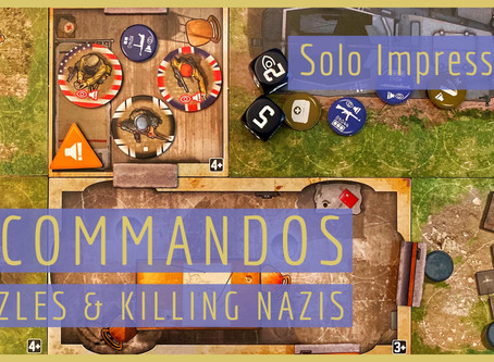 Solo Impressions: Killing Nazis and Puzzle Solving in V-Commandos