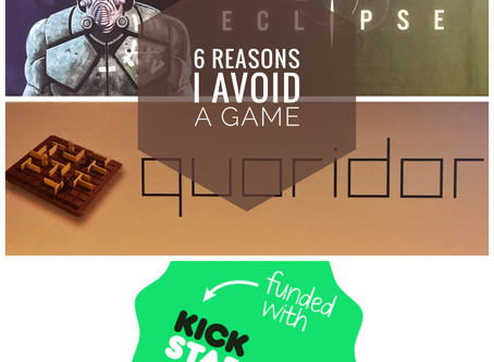 Six Reasons I Avoid a Game (Part 2)