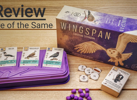 Wingspan European Expansion: More of the Same