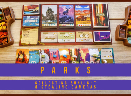 Parks: Collecting Sunlight and Stealing Cameras