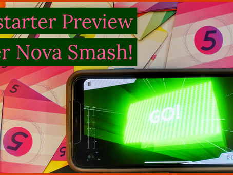 Kickstarter Preview: Super Nova Smash!