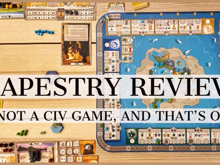 Tapestry: It's Not a CIV Game, and That's Okay