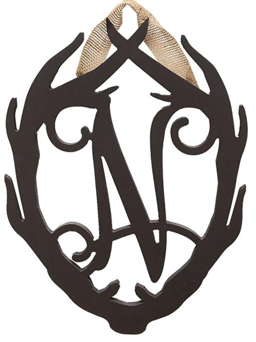 Antlers Monogram