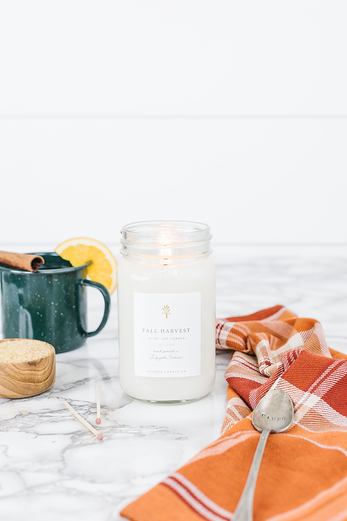 Fall Harvest 16 oz. Candle