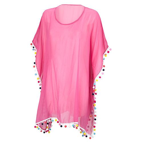 Pom-tastic women's tunic
