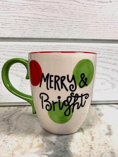 Merry & Bright Ceramic Mug
