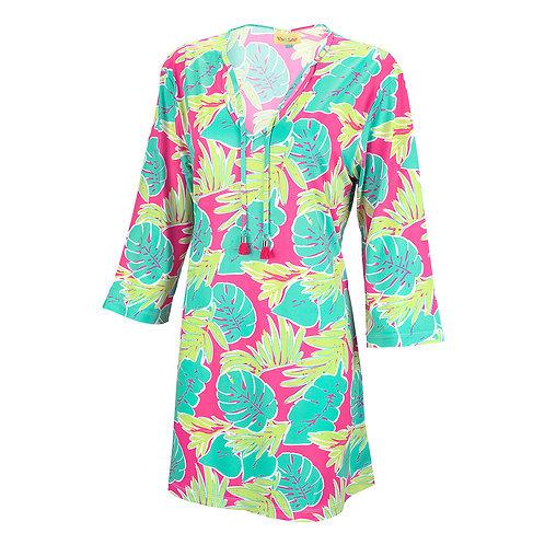 Tropical women's tunic