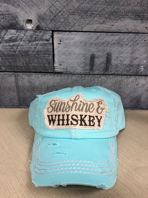 Sunshine & Whiskey hat