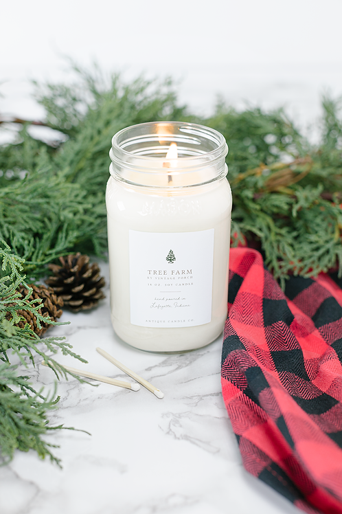Tree Farm by Vintage Porch 16 oz. Candle