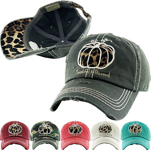 Thankful & Blessed Vintage Hat