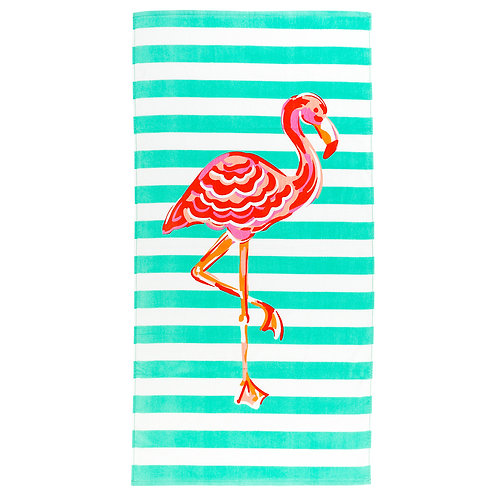 Beach Towel- Flamingo