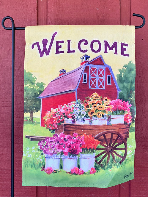 Welcome Barn Flag
