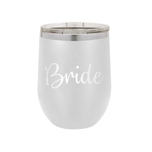 12 oz Tumbler- Bride