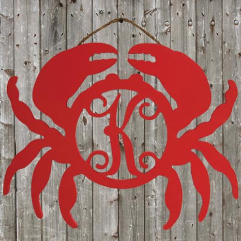 """Crab Monogram 22"""""""