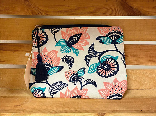 Blooms Cosmetic Bag