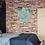 "Thumbnail: Turtle Wooden Monogram - approximately 20"""
