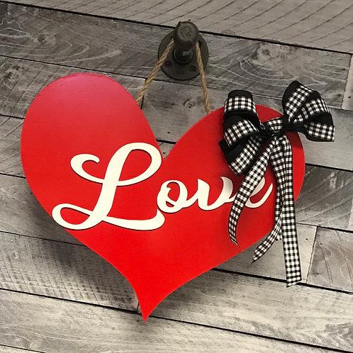 Love Heart decor