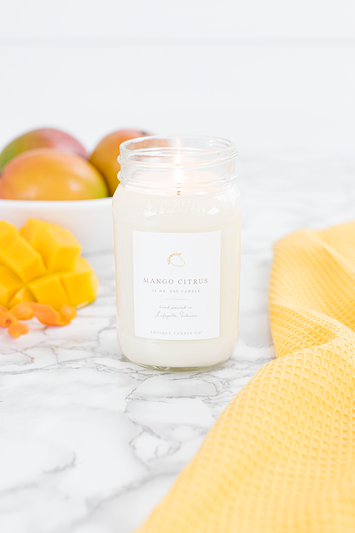 Mango Citrus 16 oz. Candle