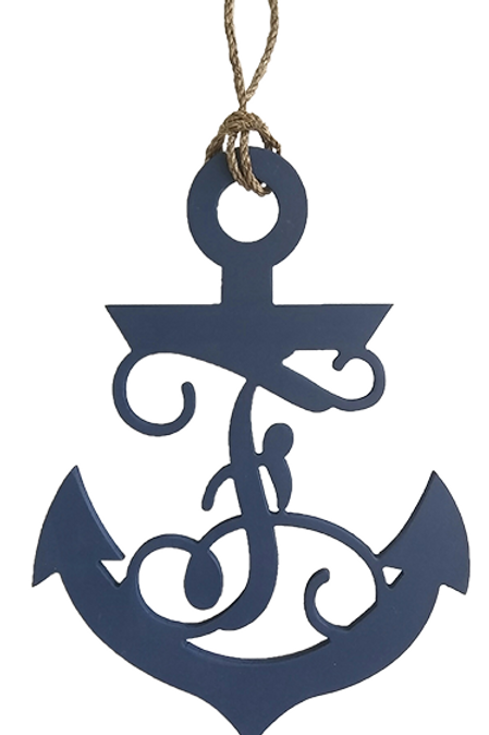 Anchor Monogram 20""