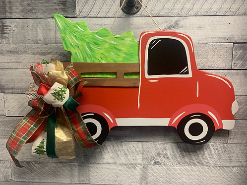 Customizable Vintage Truck Door Hanger