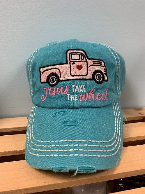 Jesus Take the Wheel Hat