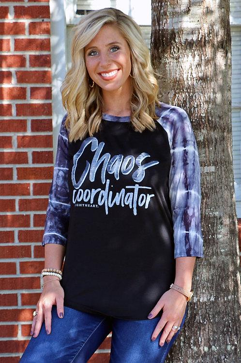 Chaos Coordinator 3/4 Sleeve T-Shirt