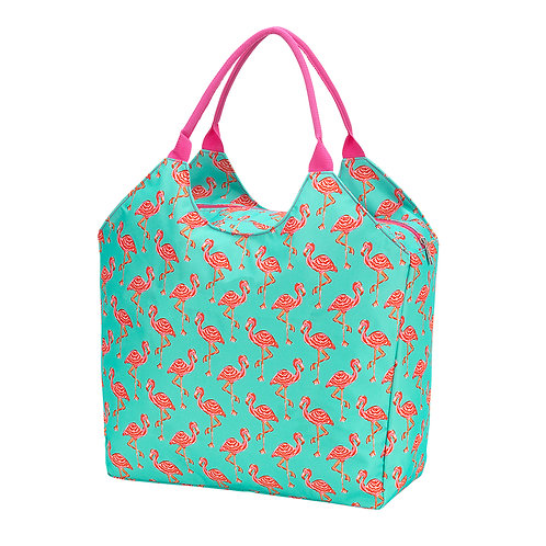 Beach Bag- Tickled Pink