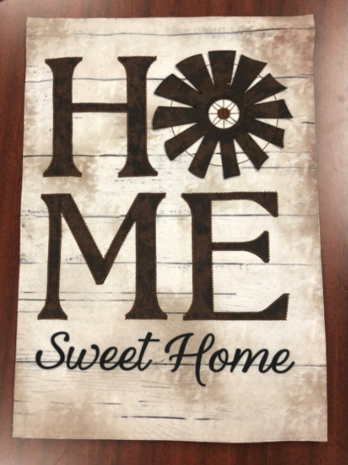 Home Sweet Home garden flag
