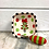 Thumbnail: Christmas Tree Ceramic Bowl & Spreader
