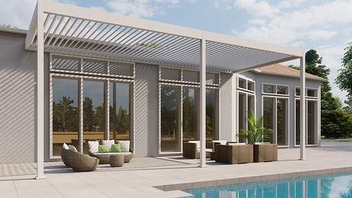 pool-terrace-3-post-pergola-with-louvere