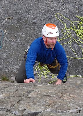 Sport climbing, Altnadue Quarry, Co. Down