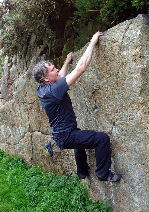 Bouldering, Dalkey Quarry, Co. Dublin